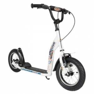 bikestar Premium Sparkcykel 12 Diamant Vit