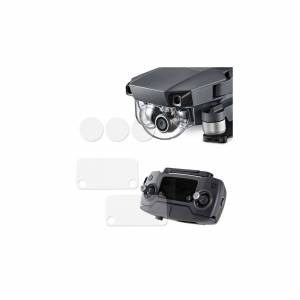 AK Skyddande film för kameralins / Fjärrkontroll till DJI Mavic Pro - Multi-pack - Kit