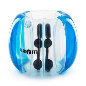 Klarfit Bubball KR Bubble Ball Uppblåsbar Fotboll barn 75x110cm EN71P PVC Blå