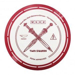 Yikun Twin Swords Driver frisbee - Guld