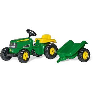 Rolly Toys Tramptraktor med Släp John Deere
