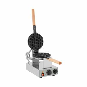 Royal Catering Boble-vaffeljern - 1.415 W - vendbart 10010732