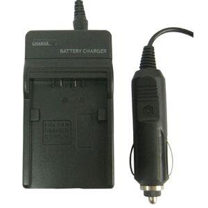 Panasonic Laturi ja autolaturi Panasonic 602E/ DC1/ BC14 malleihiin