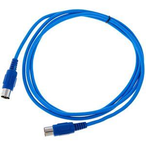 the sssnake SK366-2-BLU MIDI-Kabel blau