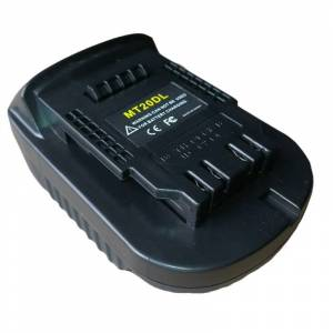 Makita Mt20Dl Battery Adapter For Makita 18V Bl1830 Bl1860 Bl1815 Li-Ion Battery For Dewalt 18V 20V Dcb200 Li-Ion Battery