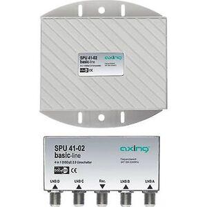 Axing SPU 41-02 DiSEqC bryter 5 (4 LØR/1 bakkenett) 1