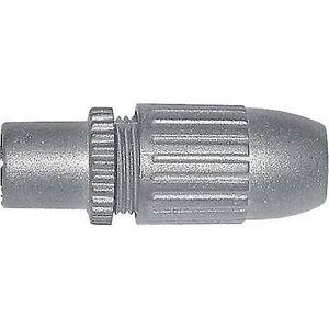Axing Koaksial-IEC socket, straight kabel diameter: 6.8 mm