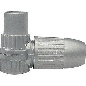 Axing Koaksial-IEC vinklet kobling kabel diameter: 6.8 mm