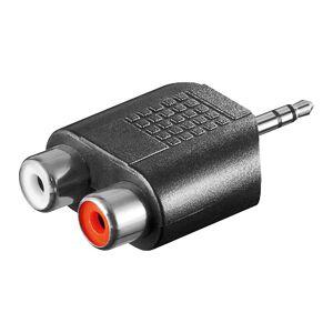 ljud adapter 3,5mm Jack - 2x RCA Jack