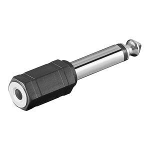 ljud adapter 6,35mm mono kontakt - 3,5mm mono Jack