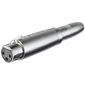 XLR ljud adapter 3-stifts XLR jack - 6,35mm mono jack