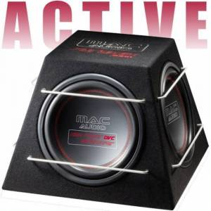 "MacAudio Pyramid 3000 3x12"" aktiivisubwoofer"