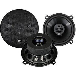 Hifonics Titan 2 måte koaksial flush Mount høyttalersett 150 W innhold: 1 par