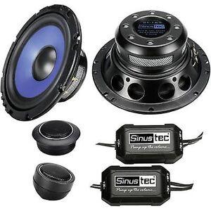 Sinustec ST-165 2 Way flush Mount høyttalersett 300 W innhold: 1 sett