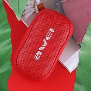 Awei Y900 liten bluetooth-högtalare - Röd