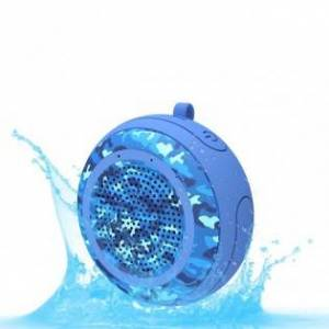 Vattentät och flytande Bluetooth-högtalare - Blå