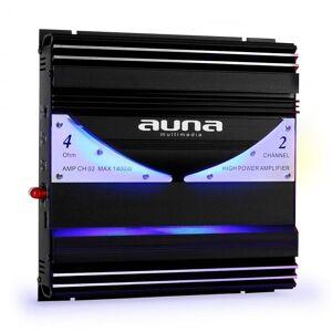 Auna 2-kanalsförstärkare Auna AMP-CH02 autoslutsteg 1400W