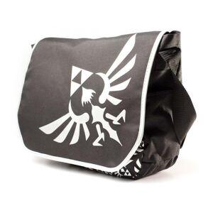 """Zelda - Messenger Bag Silver Logo 15"""" laptop Zelda Messenger Bag Silver Logo 15"""" laptop"""