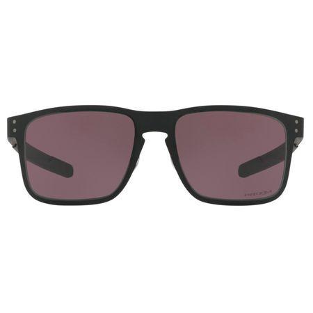 Oakley Óculos de Sol Oakley Holbrook Metal 0OO4123 11/55 Preto Fosco Lente  Cinza
