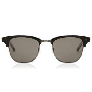 Garrett Leight Solbriller Lincoln Black Pewter 2026 BK-PW/PGY