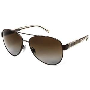 Burberry Solbriller BE3084 Check Polarized 1212T5