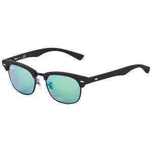Ray-ban Green Lense Matte Frame Sunglasses