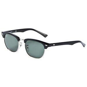 Ray-ban Clubmaster Junior Sunglasses Black/Green Classic