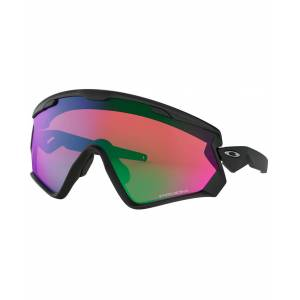 Oakley Wind Jacket 2.0 Matte Black - Sportglasögon - Prizm Snow Jade