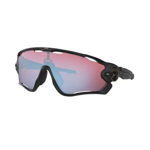 Oakley Jawbreaker Matte Black - Sportglasögon - Prizm Snow Sapphire