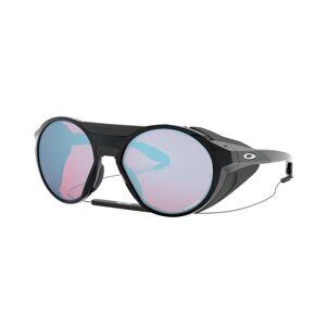 Oakley Clifden Polished Black - Solglasögon - Prizm Snow Sapphire