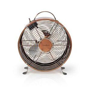 Nedis, tabel Fan ,  Strømforsyning ,  Diameter: 25 cm ,  Højde: 33.5 cm , ...
