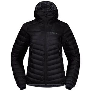 Bergans Senja Down Light Women's Jacket W/Hood Sort Sort S