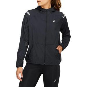 Asics Women's Lite-show Jacket Sort Sort XL