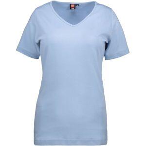 Id Interlock T-Shirt Med V-Hals Til Kvinder
