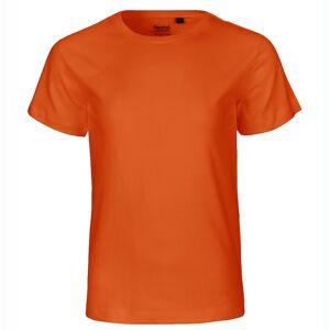 Neutral Økologisk Børne T-Shirts-Orange-92/98 92/98