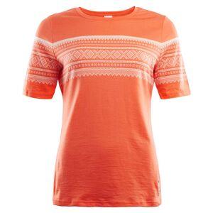 Aclima DesignWool Marius T-Shirt Women Orange Orange L