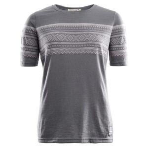 Aclima DesignWool Marius T-Shirt Women Grå Grå XS