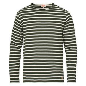 Armor-lux Heritage Cotton Sweater Olive/Nature men M Grøn