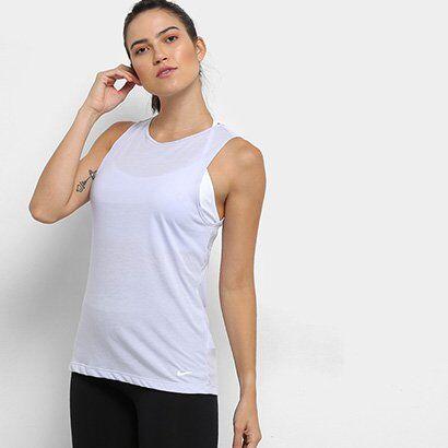 Regata Nike Dri-Fit Studio Open Back Feminina - Feminino