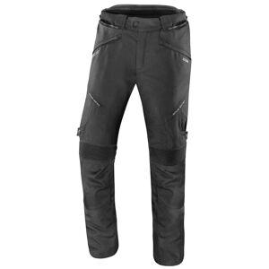 IXS Cortez Tekstiili housut  - Musta - Size: 2XL