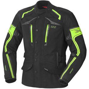IXS Montgomery Gore-Tex Tekstiili takit  - Musta Keltainen - Size: XL