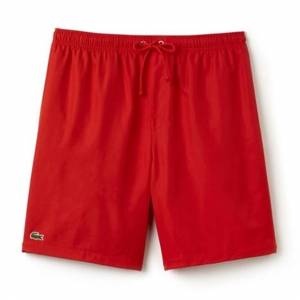 Lacoste Shorts Solid Diamond Red L