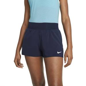 Nike Court Flex Victory Shorts Navy/White XS