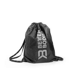 Better Bodies Stringbag BB, black/grey, Better Bodies