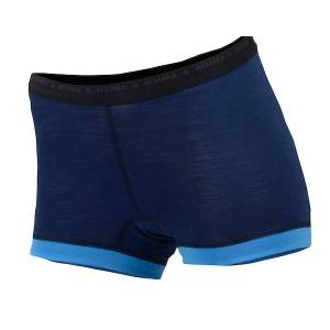 Aclima LightWool dame hipster Insignia Blue/Blithe