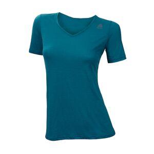 Aclima LightWool dame t-skjorte løs passform Harbor Blue
