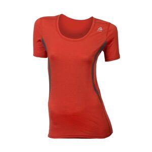 Aclima Lightwool dame t-skjorte rund hals Poinciana Irongate