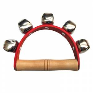 Tambourine Handbell Baby Kid Child Early Educational Musical Instrument Rhythm Beats Shaking Small Jingle Bell Toy
