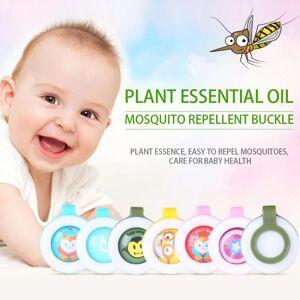 1pc Baby Skin Care Anti Mosquito Insect Repellent Wrist Silicone Waterproof Repellent Button Pregnant Women Anti-mosquito Button