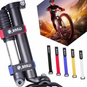 Lightweight And Portable Bicycle Nylon Hook Loop Tape Self Adhesive StrapThread Tie Pump Bottle Band Cycling Flashlight Bandage